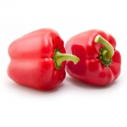 Organic red pepper 1 Kg.