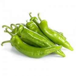 Organic Italian green pepper 5 Kg.
