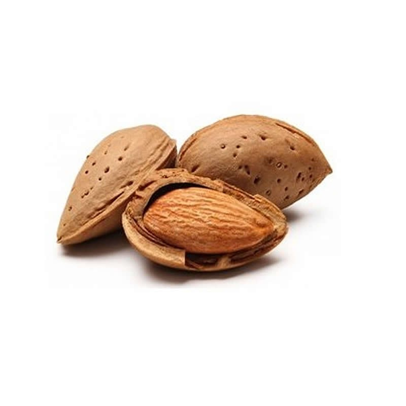 Organic Almond in shell 5 Kg.