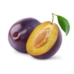 Organic Red plum 6 Kg.